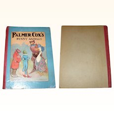 Palmer Cox Funny Animals M.A.Donahue & Co. USA