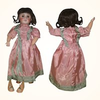 17 Inch UNIS France 301 E.T. with 1930's Couture Wardrobe