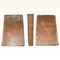 First Edition The Life of Robert Fulton 1817 Leather Bound Wear