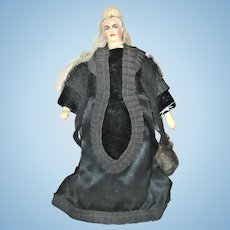 12 Inch Queen Victoria By Mary Branca Chicago Doll Artist 1940-1960