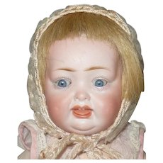 11 Inch Kley and Hahn 161 Character Baby Sleep Eyes Wig Repaired Eye Chip