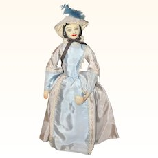 11 Inch 1930's Saroff  Mary Todd Lincoln Artist Doll