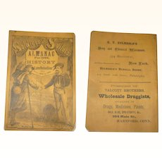 Soldiers & Sailors ALMANAC For 1869 and History of the Late Rebellion from 1860 to 1865