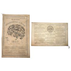 1857 The Illustrated Phrenological Almanac