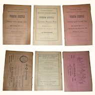 1889 * 1890 * 1891 Atlantic County Agricultural and Horticultural Society Fair Catalogs