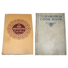 Hard Cover  1944 The Good House Keeping Cook Book and 1905 The Economical Cook Book