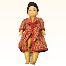 As Found Simon Halbig 1339 Oriental Doll Needs TLC