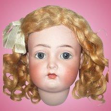 19 Inch Kammer Reinhardt 403 Estate Doll Original Wig Body Finish Factory Clothes Need Restringing