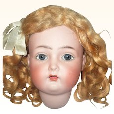 19 Inch Kammer Rhinehardt 403 Estate Doll Original Wig Blody Finish Factory Clothes Need Restringing