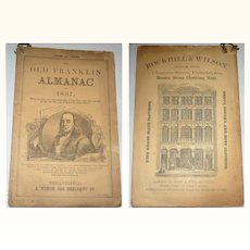 The Old Franklin Almanac for 1867  No. 7