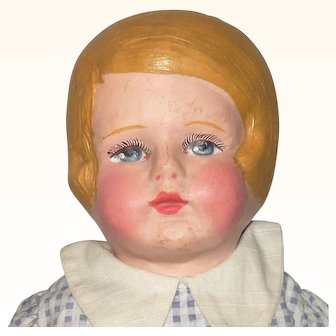 16 Inch Blond Chase Side Part Girl Great Face Original Clothes