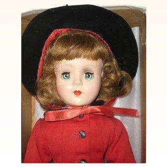 17 Inch Mary Hoyer Honey Blond Gigi Tagged Poodle Skirt Costume  Worn Signed Box