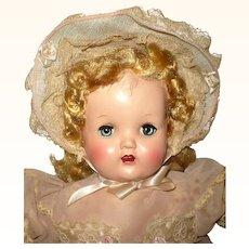 1950's Royal Doll Mfg. Co HP Head Soft Rubber Body All Original hang Tag