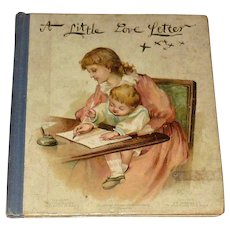Miniature Victorian Children's Book A Little Love Letter
