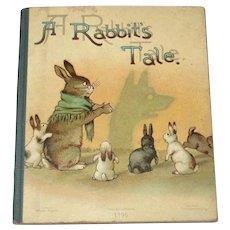 1896 Ernest Nister Miniature Book A Rabbit's Tale