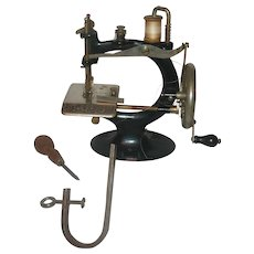 Smith and Egge 1898 Little Comfort Improved Sewing Machine
