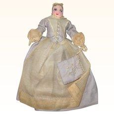 6 Inch 1930's Moravian Benigna Widow Bethlehem PA