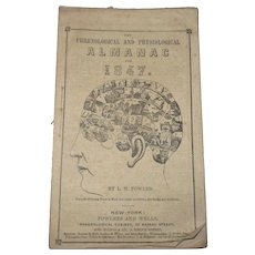 The Phrenological and Physiological Almanac for 1847