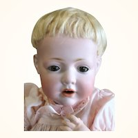 Choice 13 Inch Kestner 245 Hilda Baby with Brown SE 2 Teeth Original Wig Plaster Pate Body Finish