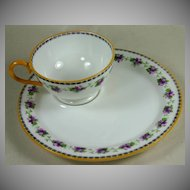 Set of 8 Royal Doulton Luncheon/Espresso Sets, Cup and Saucer