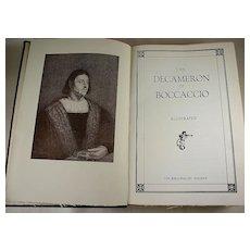 The Decameron of Boccaccio, Illustrated, Bibliophilist Society