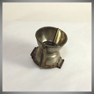 Antique French cup chocolate, ice cream mold