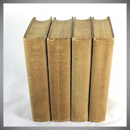 Memoirs of Barras, Member of the Directorate, 4 volumes, 1895