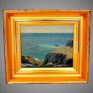 Painting of the Sea  after William Ritschel (1864-1949)