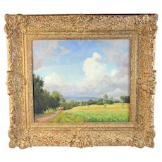 Painting by Dutch Listed Artist Carel Lodewijk Dake Jr. (1886-1946)