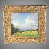 Painting Listed Artist Carel Lodewijk Dake Jr. (1886-1946)