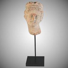Roman Head of a Muse circa 100-200 A.D