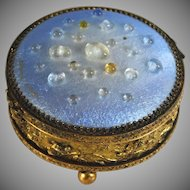 Unique Antique French Signed Limoges Jewelry Box