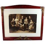 Art Nouveau Photo Frame with Picture B