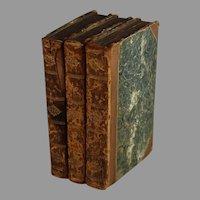 1809 The Adventures of Gil Blas of Santillane, Lesage Translated by Smollett