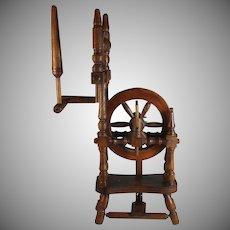 Antique Miniature/Small Dutch Spinning Wheel