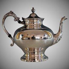 Vintage Silverplate Tea Coffee Pot, Sheffield