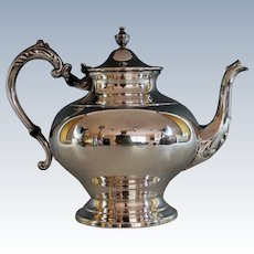 Vintage Silverplate Tea Coffee Pot, Sheffield