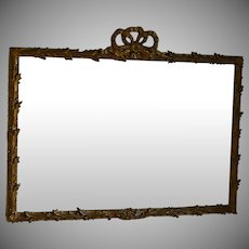 Vintage Louis XV Style Over Mantle Mirror