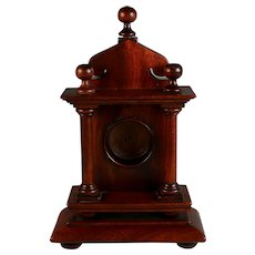 Antique Carved Wood Watch Hutch or Holder Porte Montre