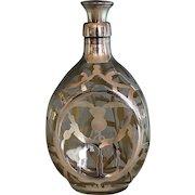 John Haig Sterling Silver Whiskey Decanter - Haig & Haig Pinch Bottle