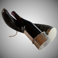 Genuine Ram's Horn Wine Rest