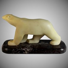 Polar Bear by Francois Pompon Museum of Modern Art Reproduction