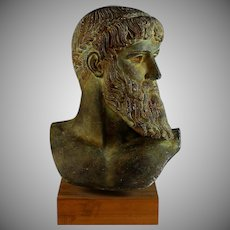 Bust of Poseidon Neptune Ancient Greek God Bust