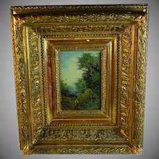 Oil on Board by French listed artist Phileas Roy