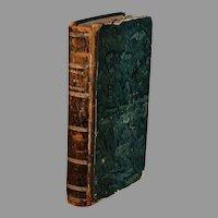 Book, Les Amours Pastorales de Daphne et Chloe by Jacques Amyot 1779