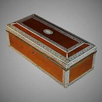 Antique Anglo Indian Vizagapatam Box
