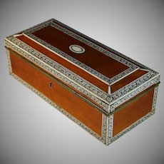 Antique Anglo Indian Vizagapatam Box