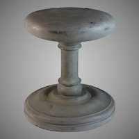 Unusual Antique French Wood Hat Stand Millinery