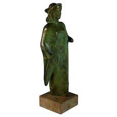 Grand Tour Bronze of Greek Goddess Artemis