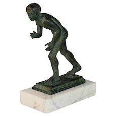 Grand Tour Bronze of a Roman Wrestler